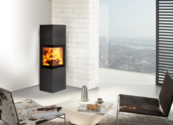 ready made fireplace austroflamm slim 2 0 12kaminat. Black Bedroom Furniture Sets. Home Design Ideas