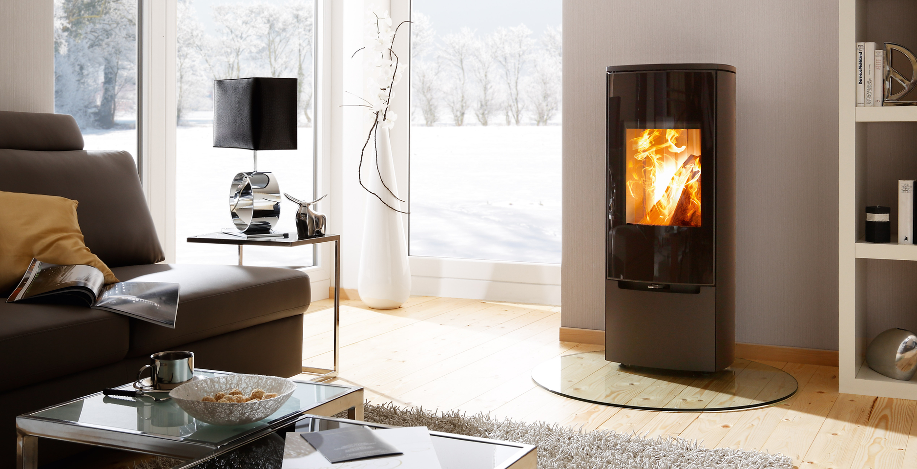 Ready Made Fireplaces : Ready made fireplace spartherm stovo kaminat
