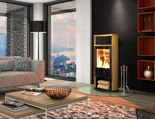 Ready Made Fireplaces : Ready made fireplace spartherm sino city kaminat
