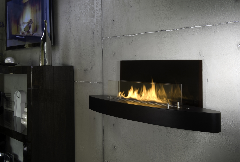 Bio Fireplace Elipse Wall 12kaminat