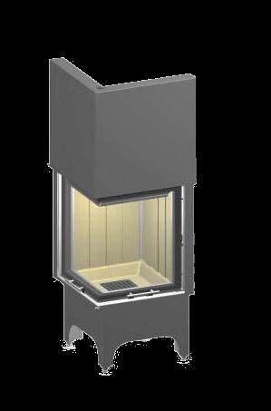 kaminas damik spartherm mini 2lrh 4s 12kaminat. Black Bedroom Furniture Sets. Home Design Ideas