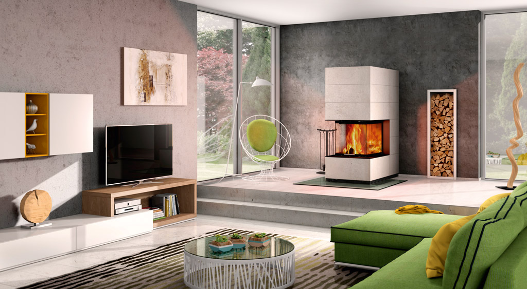 spartherm arte u 70h 4s sim 1 3 12kaminat. Black Bedroom Furniture Sets. Home Design Ideas